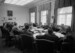 Copyright Status: Public Domain; Credit Line: Cecil Stoughton. White House Photographs. John F. Kennedy Presidential Library and Museum, Boston