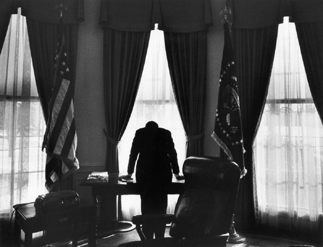 president john f kennedy in the oval office shown in one