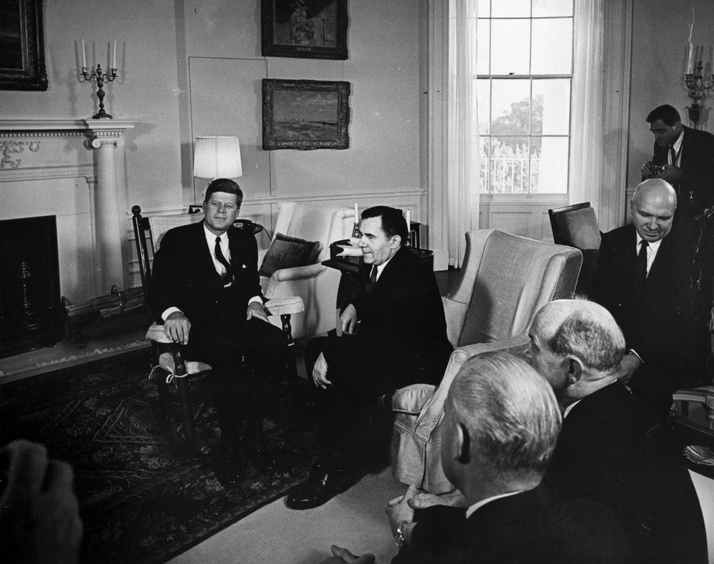 the key decisions john kennedy made on the crisis of october 1962 President john f kennedy in his office during a  the cuba blockade during the cuban missile crisis, 22 october 1962  kennedy also made an informal.