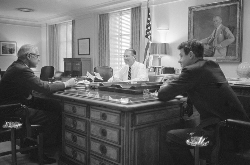 Cuban kakey and secretary office